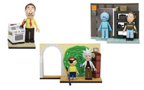 Image: Rick & Morty Small Construction Set Assortment  - Tmp Toys / Mcfarlane's Toys