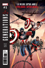 Image: Generations: Captain Americas #1 - Marvel Comics