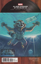 Image: All-New Guardians of the Galaxy #9 (variant Rock N Roll cover - Mike Hawthorne)  [2017] - Marvel Comics