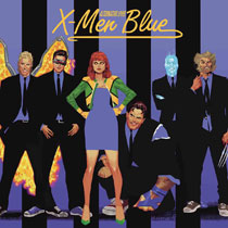 Image: X-Men Blue #11 (variant Rock N Roll cover - Acuna) - Marvel Comics
