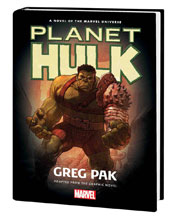 Image: Hulk: Planet Hulk Prose Novel HC  - Marvel Comics