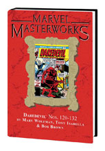 Image: Marvel Masterworks Daredevil Vol. 12 HC  (DM variant cover) (254) - Marvel Comics