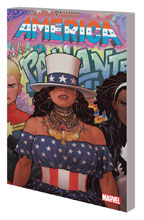 Image: America Vol. 01: Life & Times of America Chavez SC  (DM variant cover - Joe Quinones) - Marvel Comics
