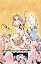 Image: Cavewoman: Quiver #1 (cover A - Massey) - Amryl Entertainment