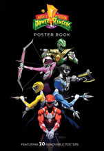 Image: Mighty Morphin Power Rangers: Poster Book SC  - Boom! Studios