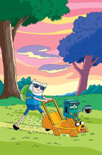 Image: Adventure Time / Regular Show #2 (subscription cover - Morrison) - Boom! Studios
