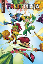Image: Fruit Ninja #1 (cover A - Brown) - Dynamite