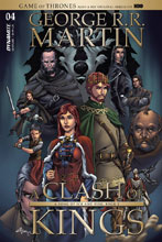 Image: Game of Thrones: Clash of Kings #4 (cover B - Rubi) - Dynamite