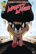 Image: Mighty Mouse #4 (cover B - Stewart) - Dynamite