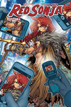 Image: Red Sonja #9 (cover C - Meyers) - Dynamite