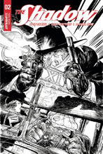 Image: Shadow Vol. 03 #2 (Kaluta b&w incentive cover - 02071) (40-copy)  [2017] - Dynamite