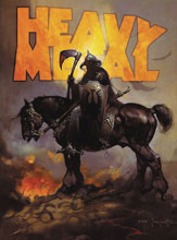 Image: Heavy Metal #288 (cover B - Death Dealer Frazetta) - Heavy Metal Magazine
