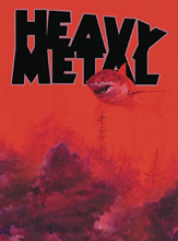 Image: Heavy Metal #288 (cover C - Shark Toof) - Heavy Metal Magazine
