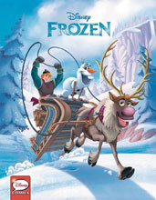 Image: Frozen 2017 Annual  - Joe Books Inc.