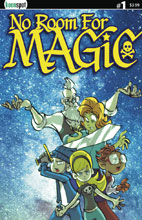 Image: No Room for Magic #1 (cover A - Ramos) - Keenspot Entertainment