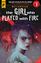 Image: Millennium: Girl Who Played with Fire #1 (cover C - Caranfa) - Titan Comics