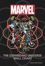 Image: Marvel Expanding Universe Wall Chart  - Chartwell Books