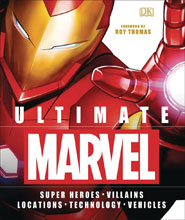 Image: Ultimate Marvel Heroes Villains Locations Tech Vehicles HC  - DK Publishing Co