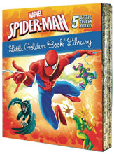 Image: Marvel Spider-Man Little Golden Book Library  - Golden Books