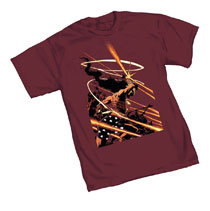 Image: DK III T-Shirt: Wonder Woman  (XL) - Graphitti Designs