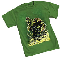 Image: Classic Swamp Thing by Wrightson T-Shirt  (S) - Graphitti Designs