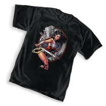 Image: DC Wonder Woman Warrior T-Shirt Bundle  (Men - Graphitti Designs