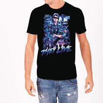 Image: They Live T-Shirt: Collage [Black]  (XL) - Rock Rebel