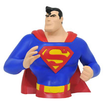 Image: Superman the Animated Series Bank: Superman  - Diamond Select Toys LLC