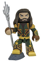 Image: Justice League Movie Vinimate: Aquaman  - Diamond Select Toys LLC