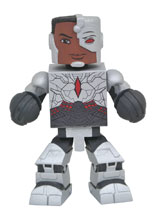 Image: Justice League Movie Vinimate: Cyborg  - Diamond Select Toys LLC