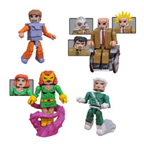 Image: Marvel Minimates: X-Men vs. the Brotherhood  - Diamond Select Toys LLC