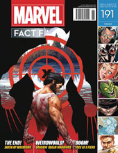 Image: Marvel Fact Files #191 (Death of Wolverine cover) - Eaglemoss Publications Ltd