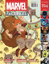 Image: Marvel Fact Files #194 (Squirrel Girl cover) - Eaglemoss Publications Ltd