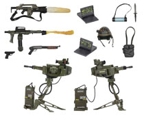 Image: Aliens USCM Arsenal Accessory Kit  - Neca
