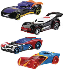 Image: Hot Wheels DC Super Hero Girls Character Car Assortment  - Mattel Toys