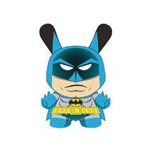 Image: Dunny DC Comics Vinyl Figure: Classic Batman  (5-inch) - Beautiful Plastic