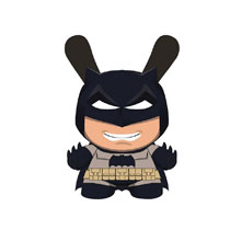 Image: Dunny DC Comics Vinyl Figure: Dark Knight Batman  (5-inch) - Beautiful Plastic