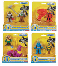 Image: Imaginext DC Justice League 2-Pack Figure Assortment  - Mattel Toys