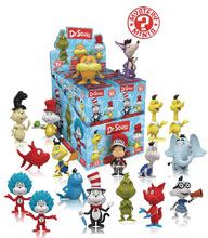 Image: Mystery Minis Dr. Seuss Series 1 12-Piece Blind Mystery Box Display  - Funko