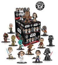 Image: Mystery Minis Star Wars Classic Series 1 12-Piece Blind Mystery Box Display  - Funko
