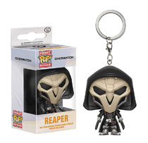 Image: Pocket Pop! Overwatch Figure Keychain: Reaper  - Funko