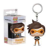 Image: Pocket Pop! Overwatch Figure Keychain: Tracer  - Funko