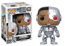 Image: Pop! Justice League Movie Vinyl Figure: Cyborg  - Funko
