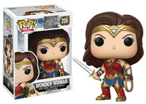 Image: Pop! Justice League Movie Vinyl Figure: Wonder Woman  - Funko