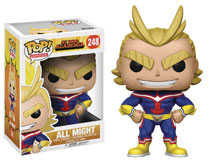Image: Pop! My Hero Academia Vinyl Figure: All Might  (6-inch) - Funko