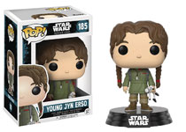 Image: Pop! Star Wars Rogue One Vinyl Figure: Young Jyn Erso  - Funko