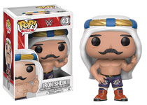 Image: Pop! WWE Vinyl Figure: Iron Sheik  (Old School) - Funko