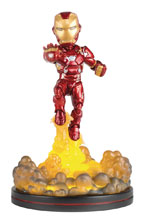 Image: Marvel Captain America 3 Q-Fig Figure: Iron Man  (Light Up) - Quantum Mechanix Inc