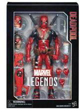 Image: Marvel Legends 12-inch Deadpool Action Figure Case  - Hasbro Toy Group
