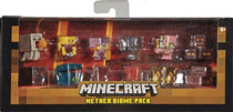 Image: Minecraft Mini-Figure Biome Pack Case  - Mattel Toys